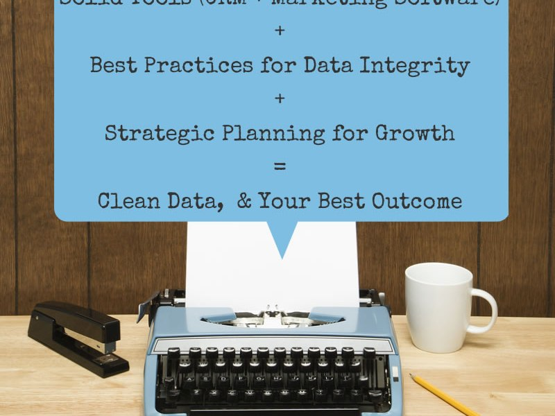 Data integrity is the key to your marketing