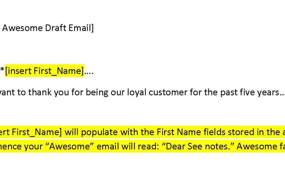 Your awesomely flawed email copy